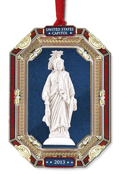 2013 Holiday Stature of Freedom Ornament