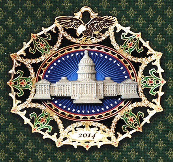 Marble Classical Capitol Ornament
