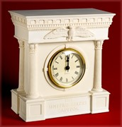 Capitol Architecture Inspired Mantle Clock