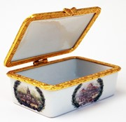 4-Stage Porcelain Box