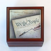 Constitution Jewelry Box