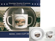 Capitol Kid's Cup & Bowl Set