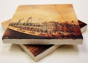 Historic Capitol Marble Tile Coaster