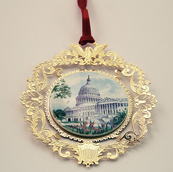 Official Society Capitol Ornament