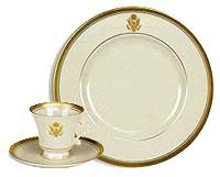 3-PC Fine Bone China Embassy Place Setting