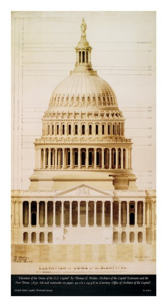 Historic Capitol Dome Print