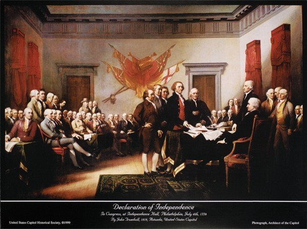 Signing of the Declaration of Independence (Unframed)