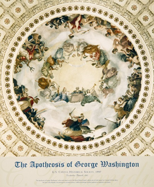 Apotheosis of Washington (Unframed)
