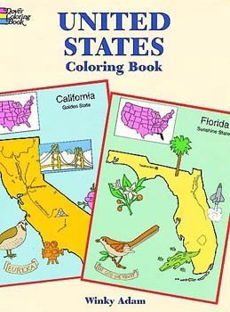 United States: Coloring Book