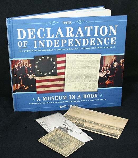 The Declaration of Independence -- A museum in a book
