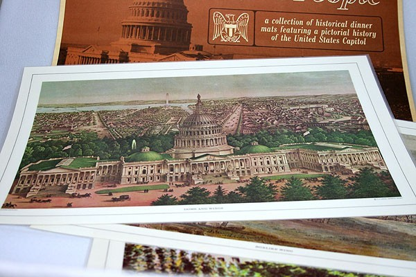 Capitol Placemats