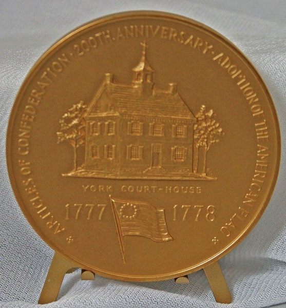 "1978 3"" Bronze Valley Forge Medal"