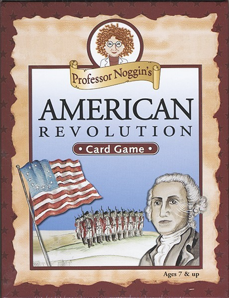 Professor Noggin's American Revolution Card Game