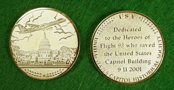 9-11 Capitol Commemorative Coin
