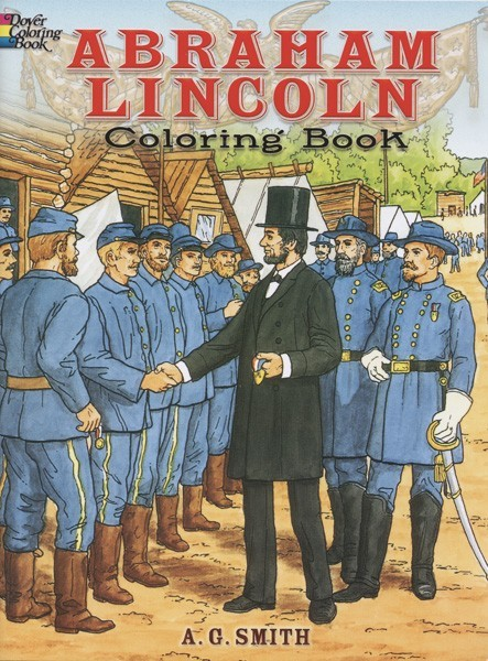 Abrham Lincoln Coloring Book