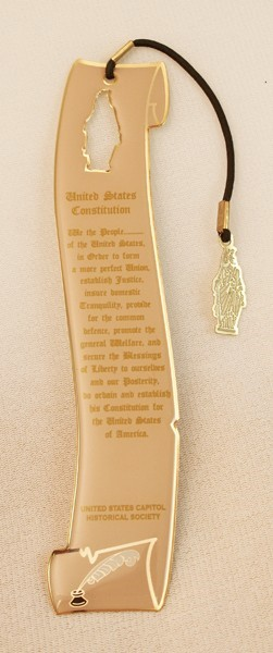 Freedom Charm Bookmark