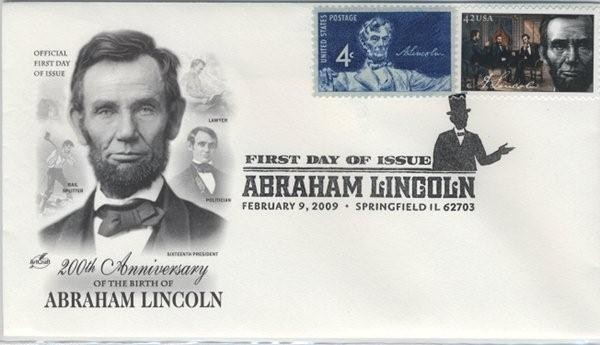 Lincoln First Day Cover