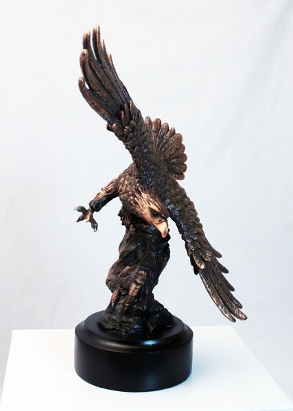 6 x 9-inch Eagle In Flight