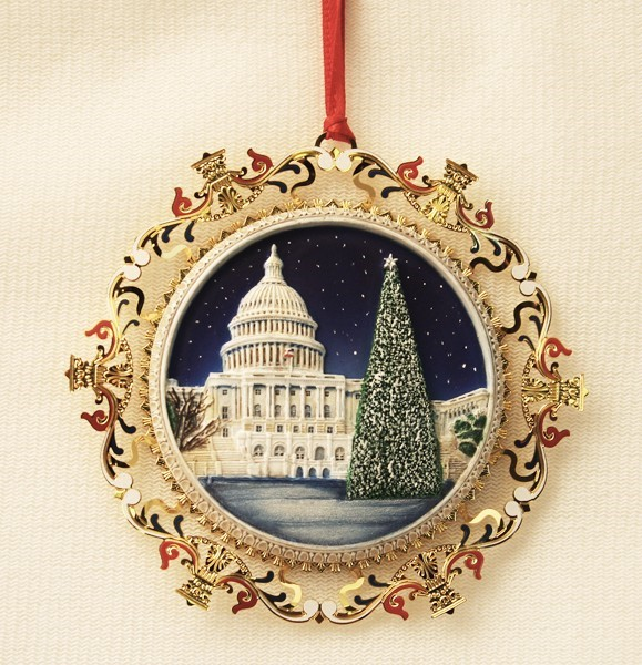 2009 Capitol West Front w/Tree Ornament
