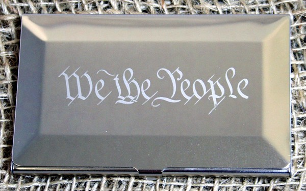 We the People Card Case