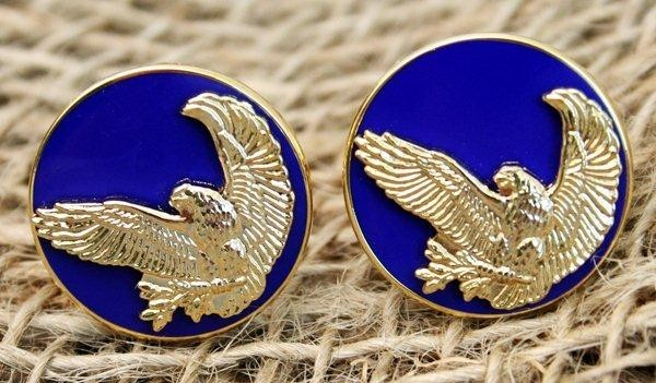 Aviation Inspired Eagle Cufflinks