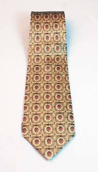 Architectural Element Tie - Tan