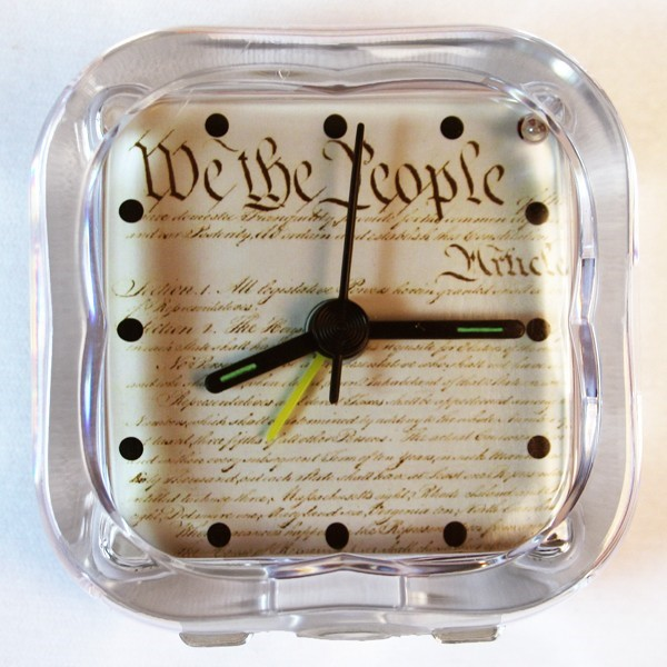 Constitution Alarm Clock