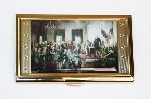 Signing of the Consitution Card Case