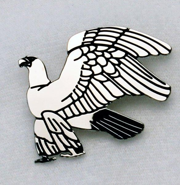 Silvertone Eagle Brooch