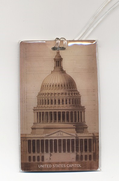 Dome Luggage Tag