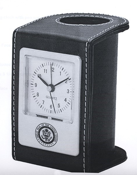 Great Seal Pen Holder & Clock