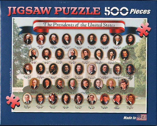 Presidents 500 PC Puzzle