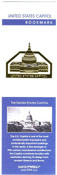 Capitol Inspired Bookmark