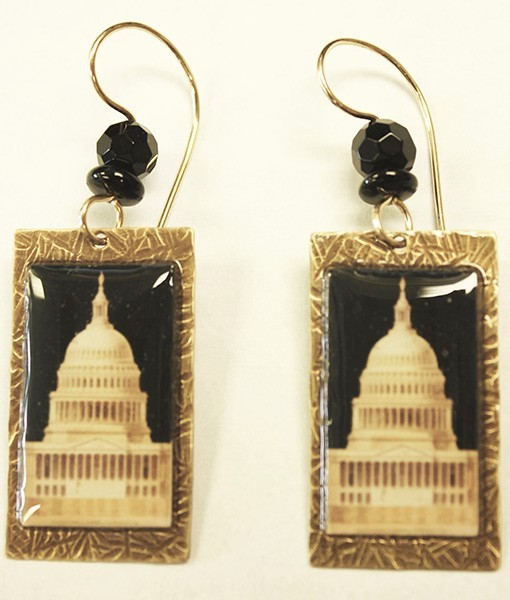 Walter Dome Earrings