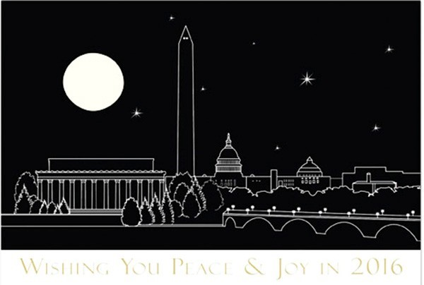 Wishing You Peace Holiday Card