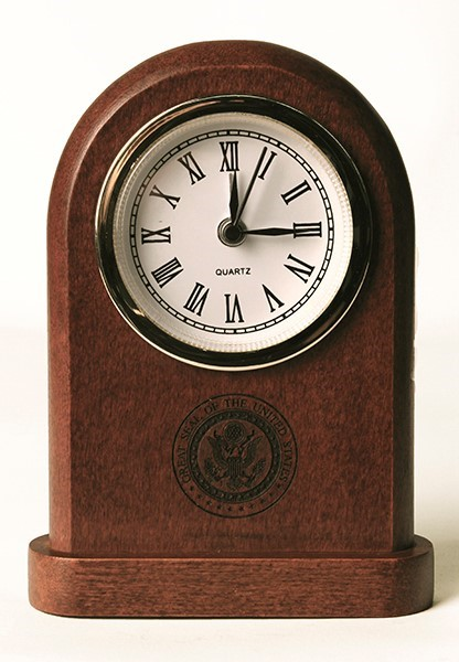 Great Seal Mantle Clock