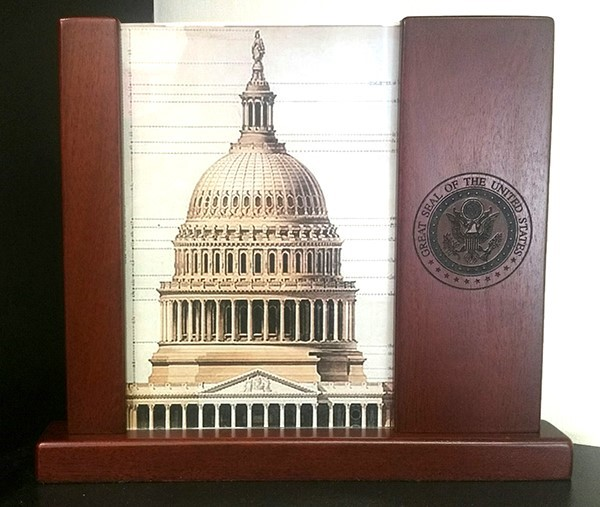 Great Seal Wood Picture Frame