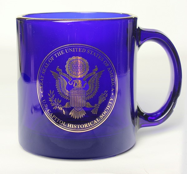 Cobalt Great Seal Halo Mug