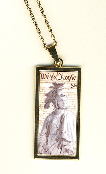 Constitution & Freedom Pendant