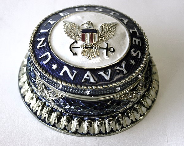 Navy Seal Jeweled Box