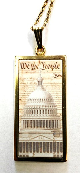 Constitution Dome Pendant