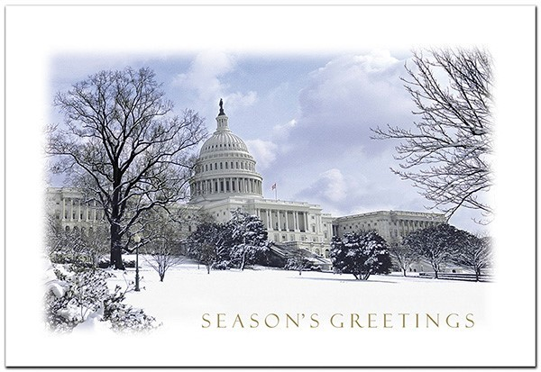 Winter Snow on the Capitol (Boxed)