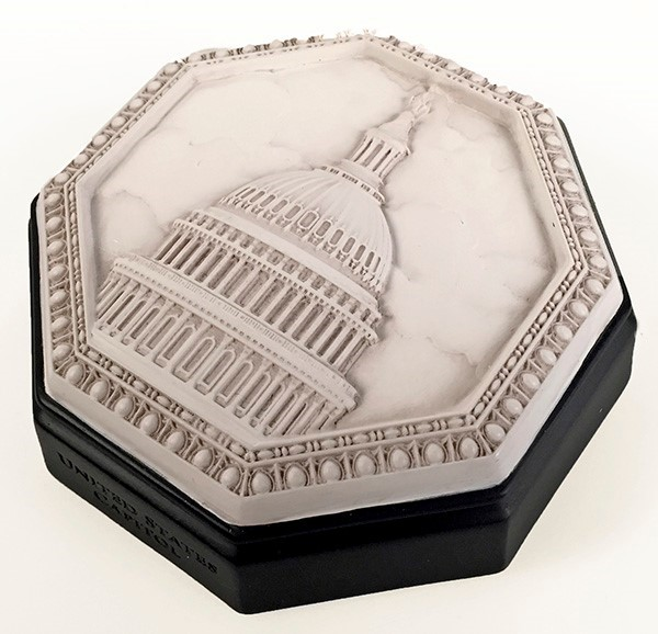Marble Octagonal Dome Paperweight