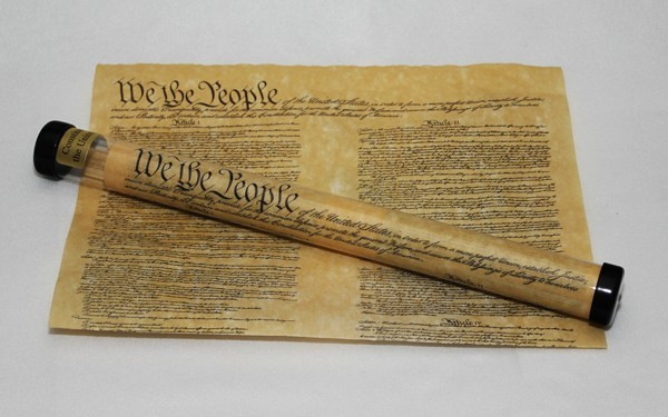 U.S. Constitution Reproduction | Parchment Constitution Document Reproduction