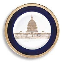 "7 1/2"" Capitol Society Plate"