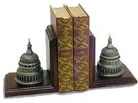 Pewter Dome Bookends