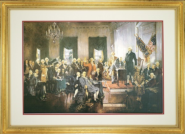 Signing of the Constitution (Framed)