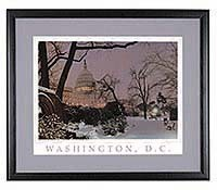 Evening on Capitol Hill (Framed)