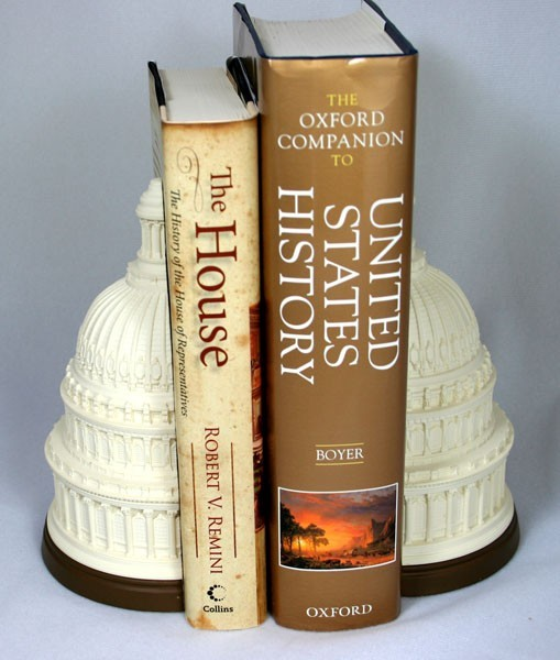 Marble Dome Bookends
