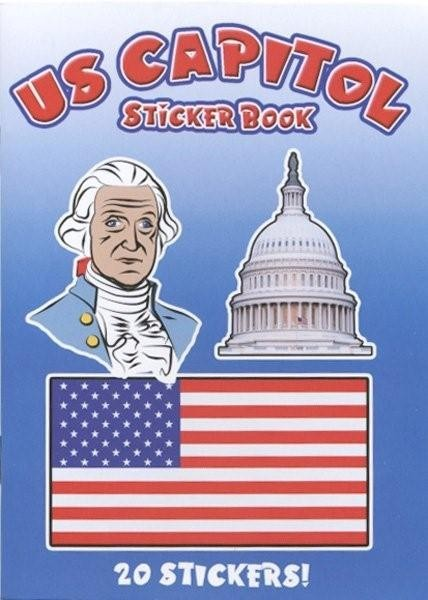 U.S. Capitol Sticker Book